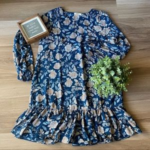 Hayden Los Angeles Floral Tunic Dress Sz M
